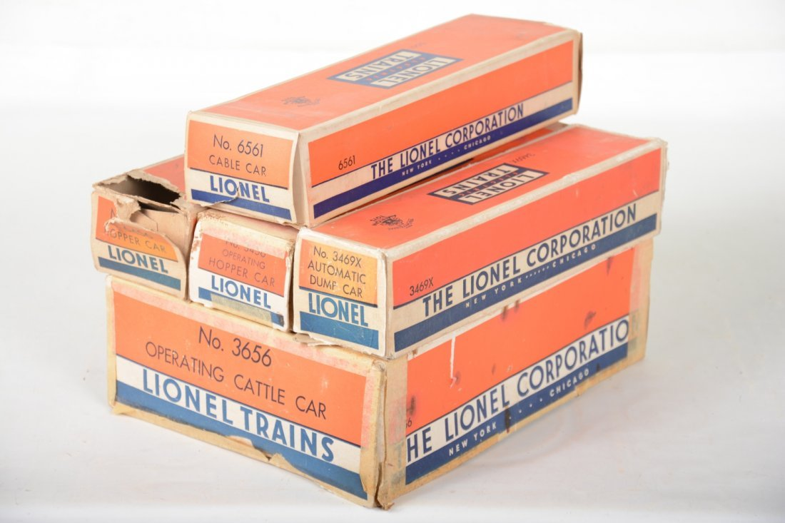 Boxed Lionel Freight Cars - 6