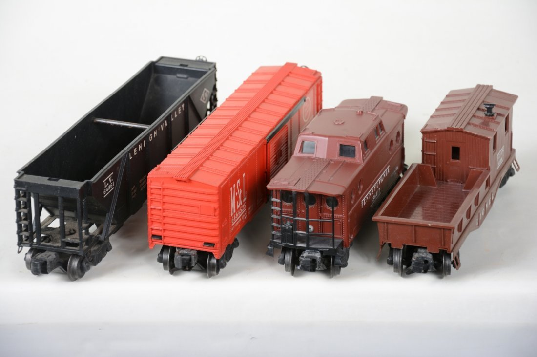 Boxed Lionel 6464-525, 6417, 6119-50 & 6436 Freights - 3