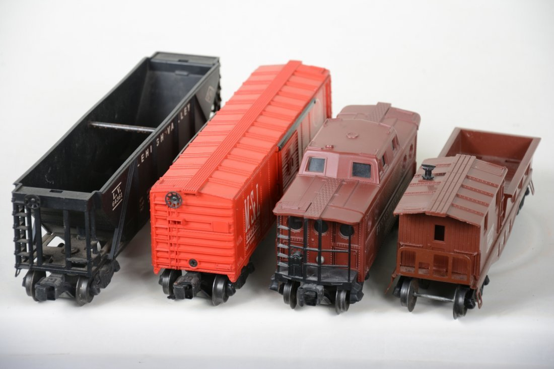 Boxed Lionel 6464-525, 6417, 6119-50 & 6436 Freights - 4