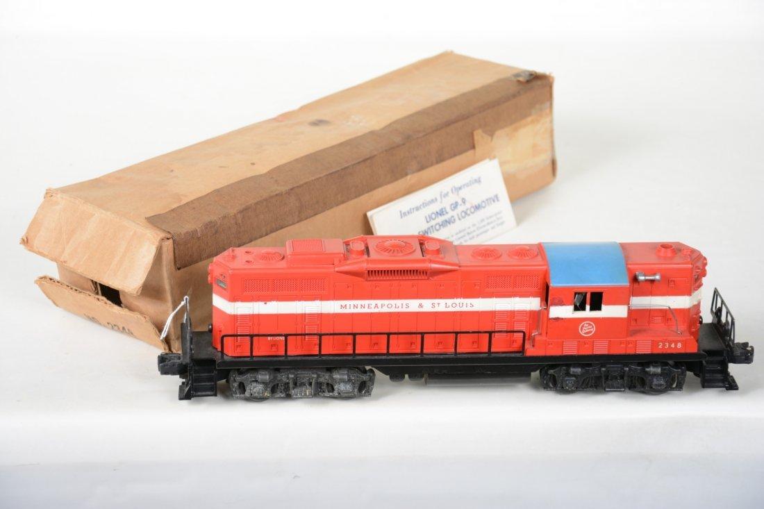 Boxed Lionel 2348 M&StL GP9 Diesel
