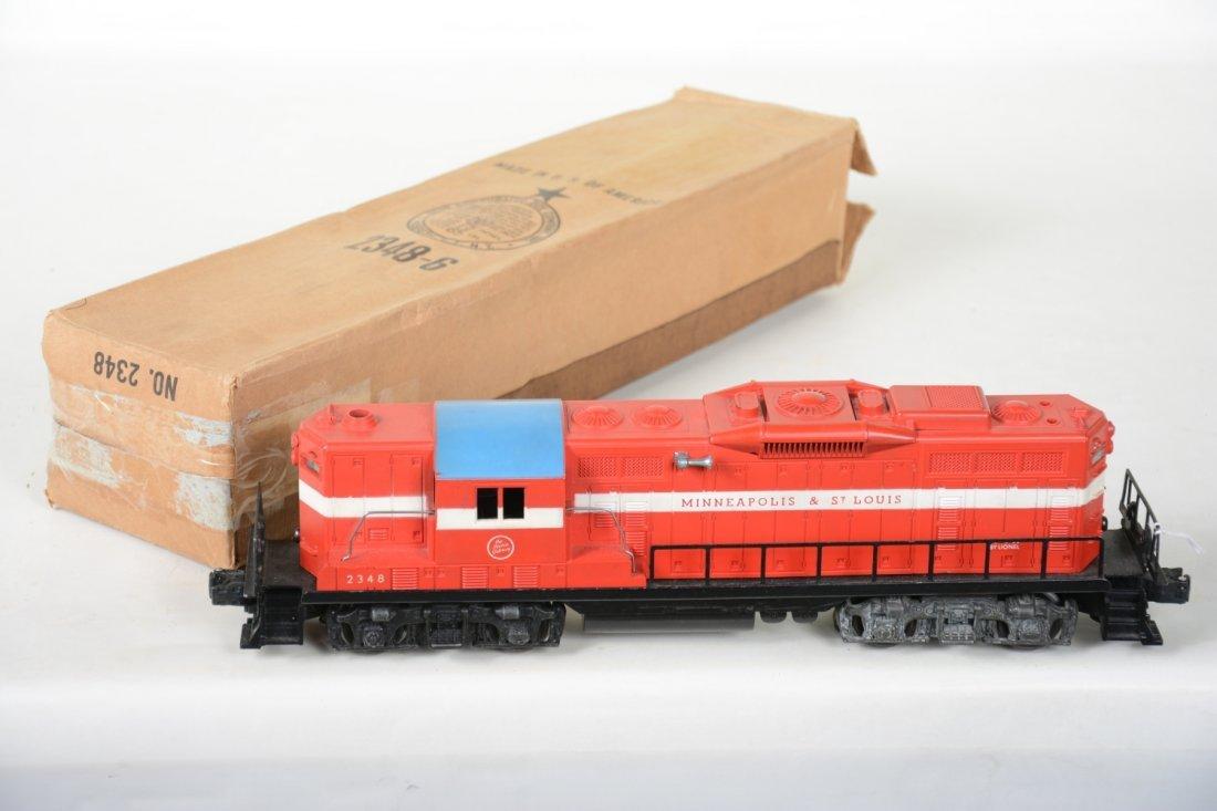 Boxed Lionel 2348 M&StL GP9 Diesel - 2