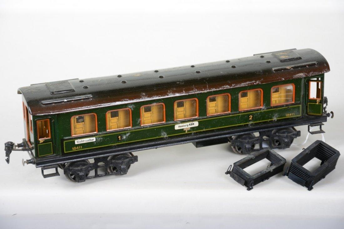 42cm Marklin 18411 Coach with Interior & Figures - 2
