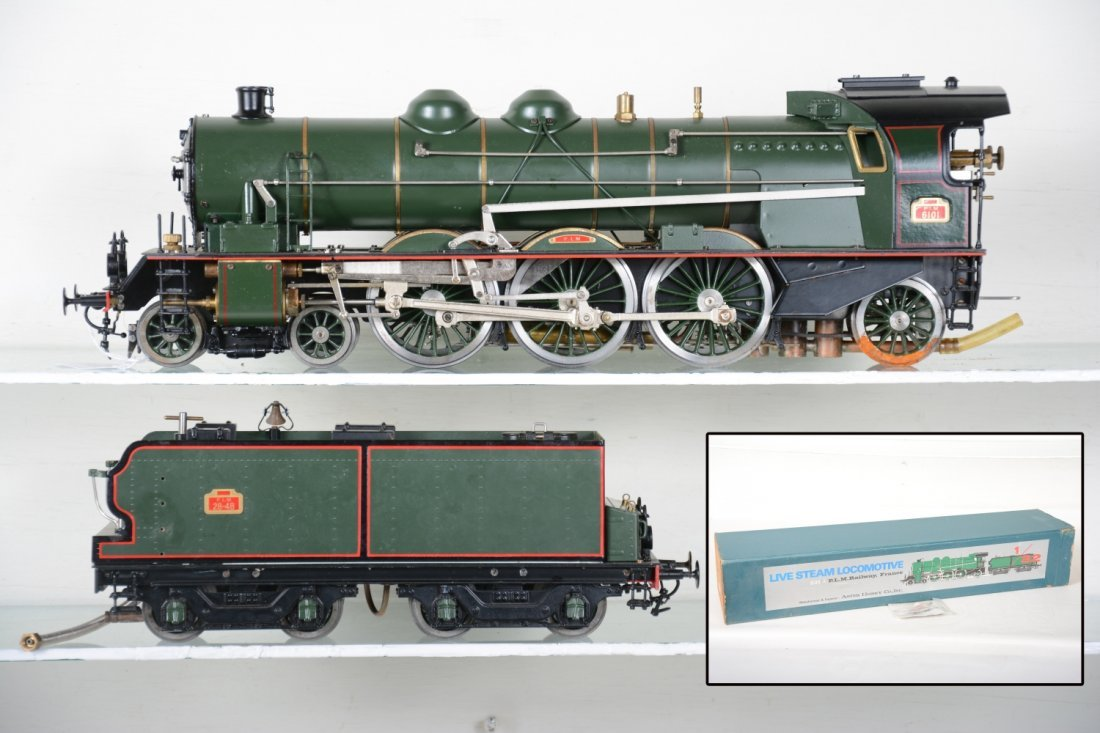 Boxed Aster 231A PLM Live Steam Loco