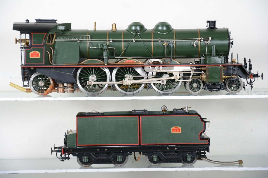 Boxed Aster 231A PLM Live Steam Loco - 3