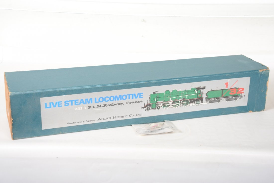 Boxed Aster 231A PLM Live Steam Loco - 6