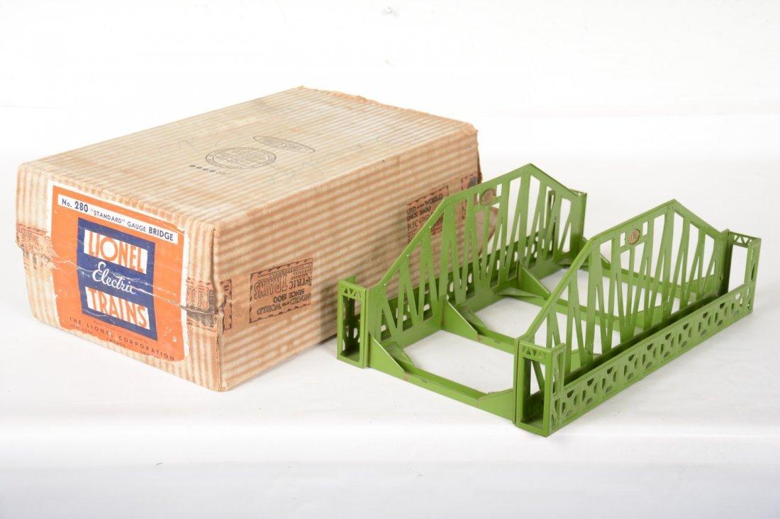 Nice Boxed Lionel 280 Bridge