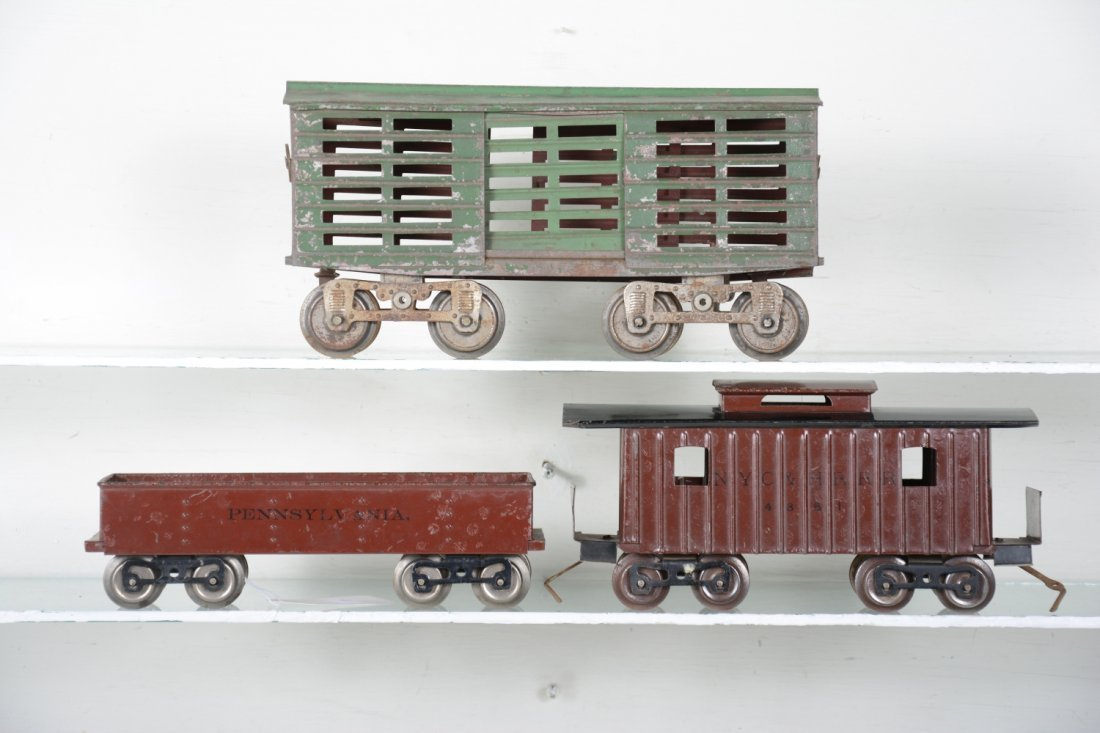 3 Early Lionel Freight Cars