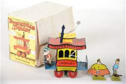 Boxed C&M Toonerville Trolley
