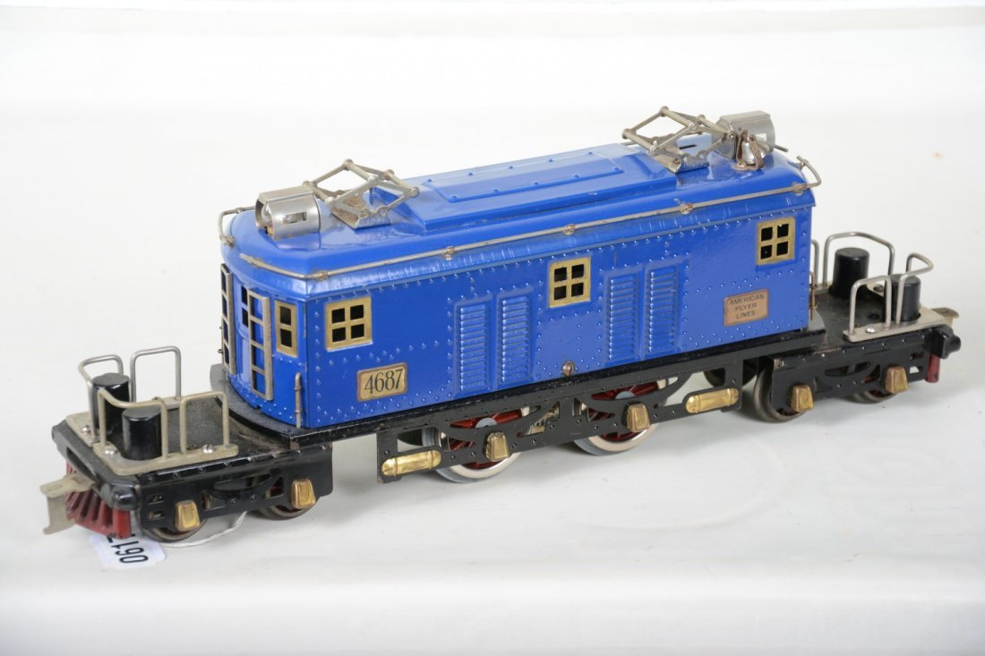 Clean American Flyer 4697 President Special Loco