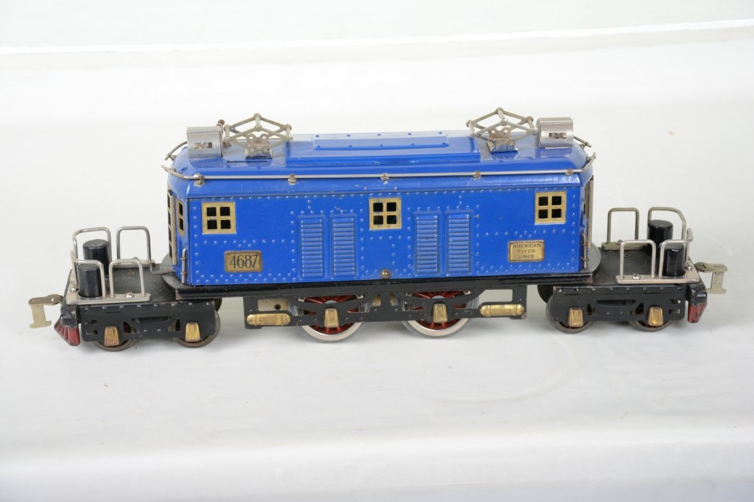 Clean American Flyer 4697 President Special Loco - 3