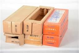 EMPTY Lionel Alco Boxes