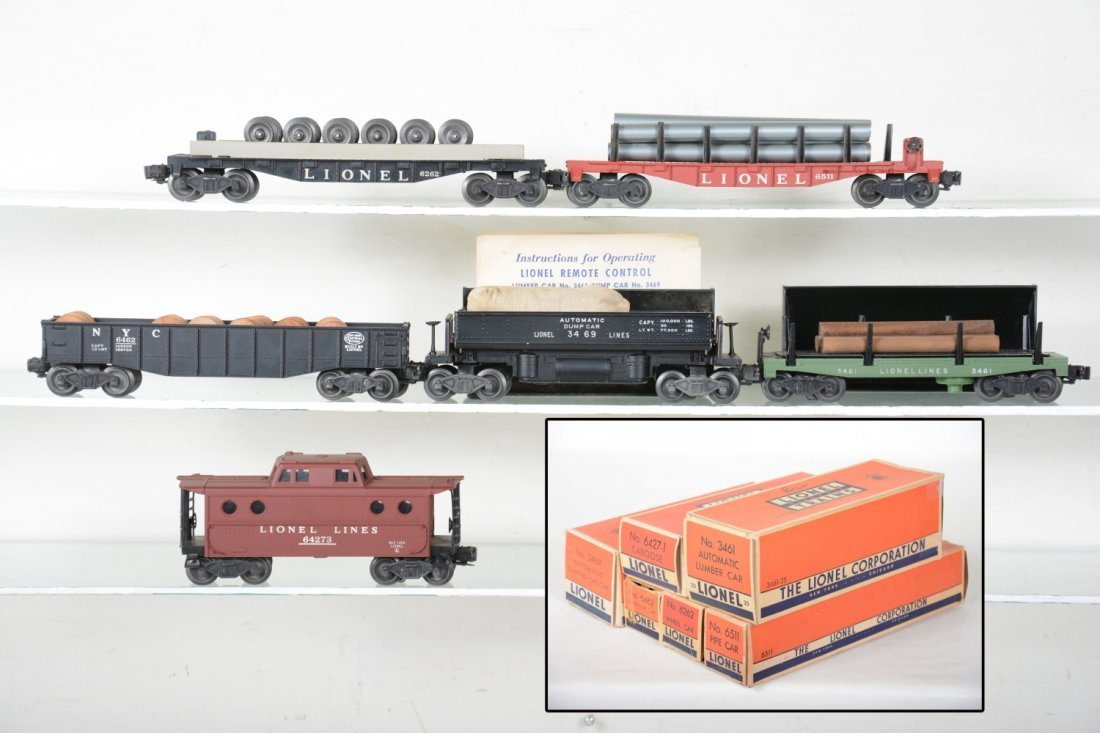 Clean Boxed Lionel Freight Cars