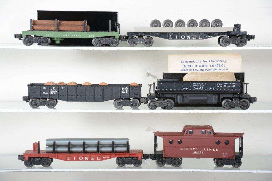 Clean Boxed Lionel Freight Cars - 2