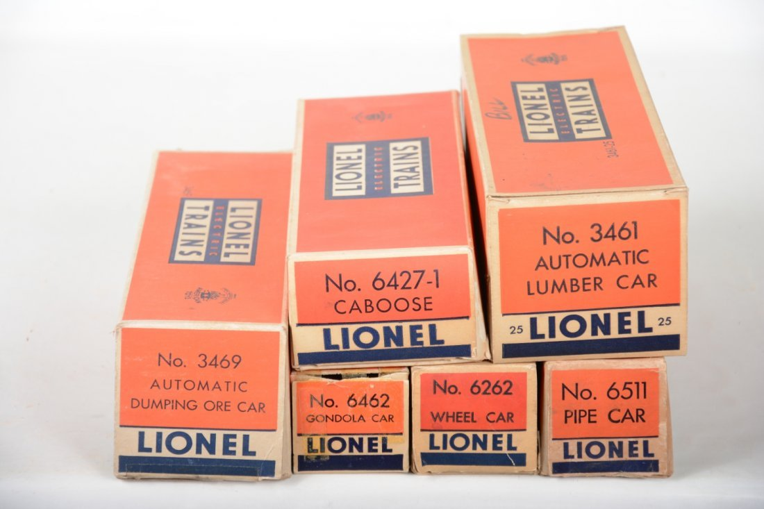 Clean Boxed Lionel Freight Cars - 5