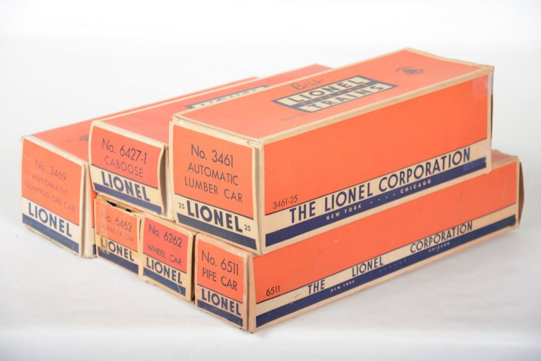 Clean Boxed Lionel Freight Cars - 6