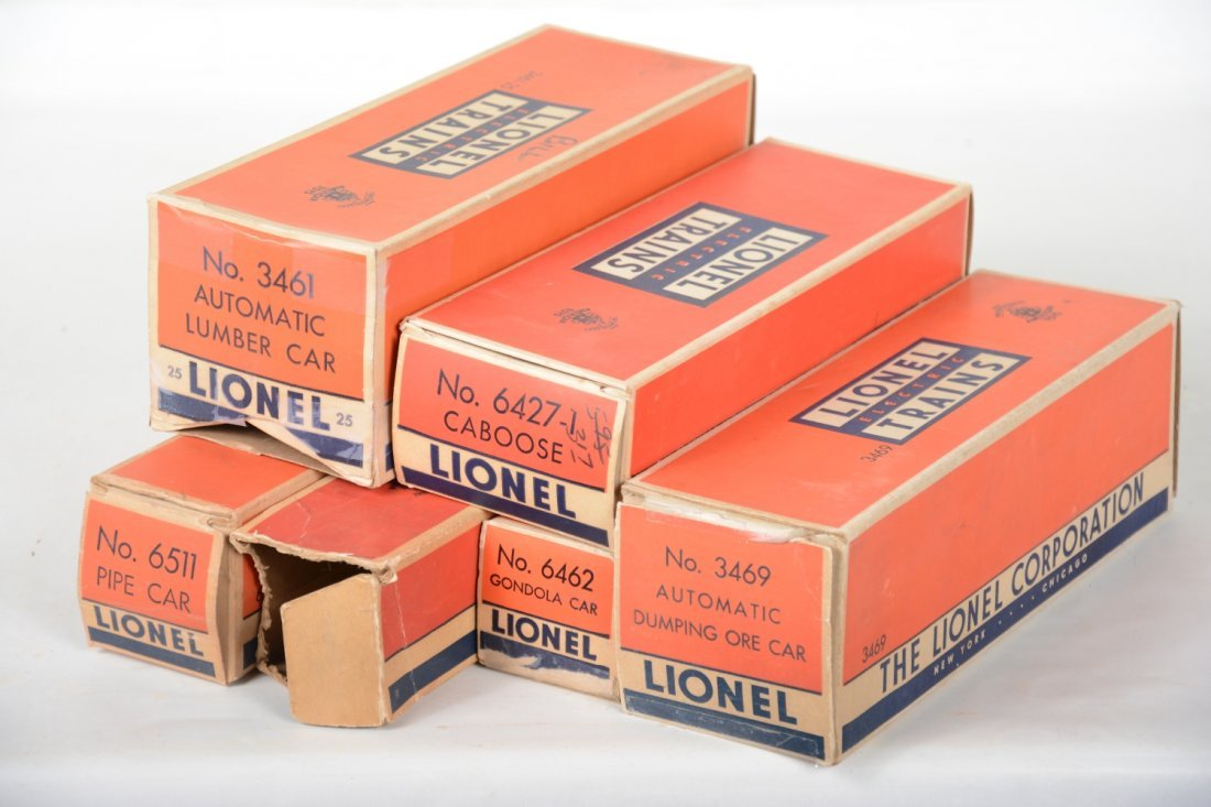 Clean Boxed Lionel Freight Cars - 7