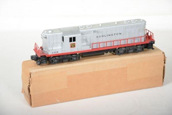 Boxed Lionel 2328 Burlington GP7 Diesel - 2