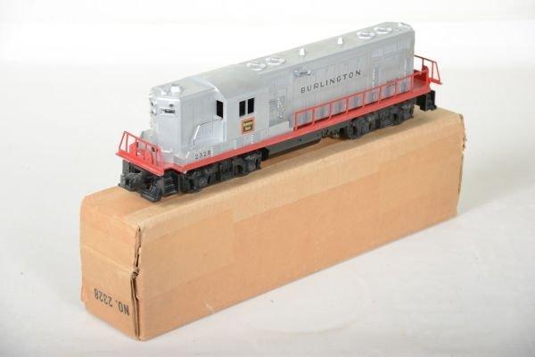 Boxed Lionel 2328 Burlington GP7 Diesel - 3