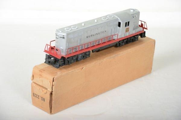 Boxed Lionel 2328 Burlington GP7 Diesel - 4