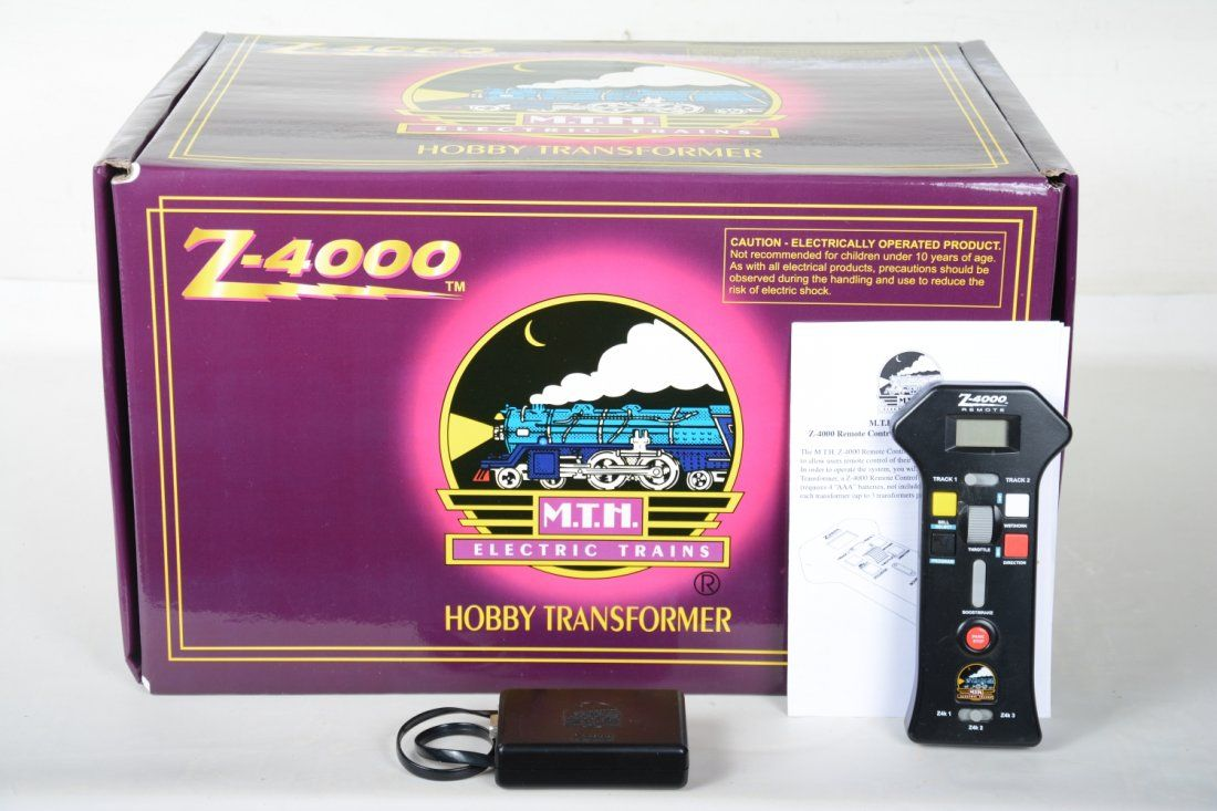 MTH Z-4000 Transformer & Controller