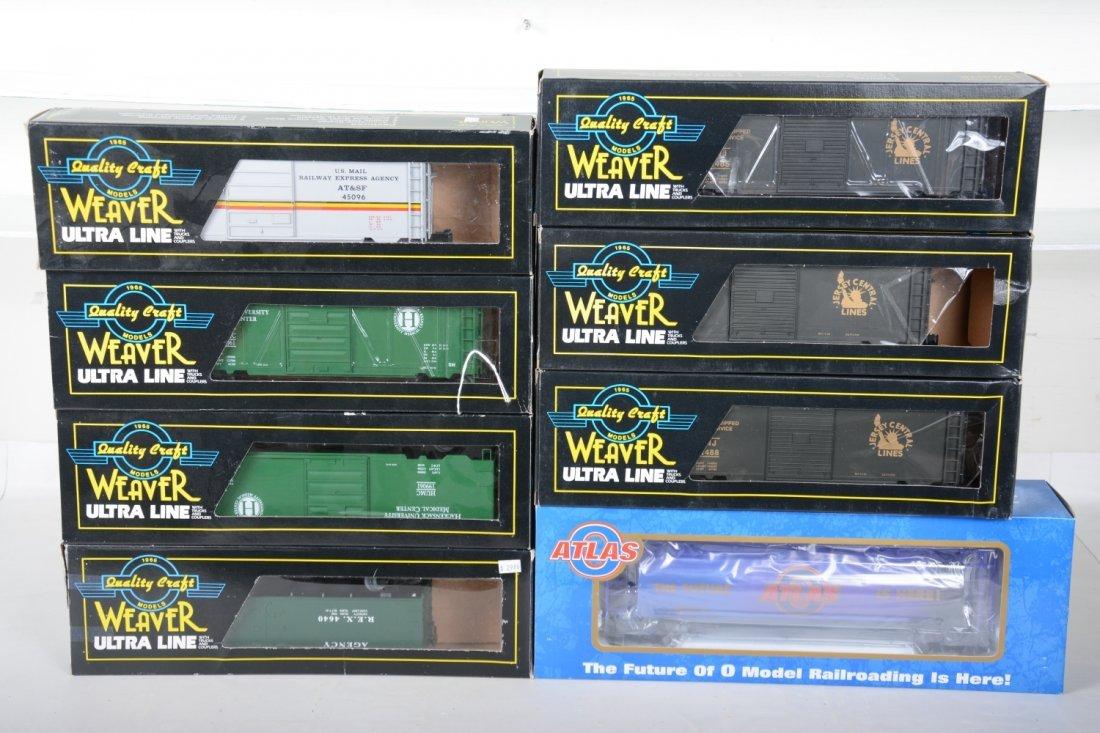 Weaver & Atlas Freight Cars