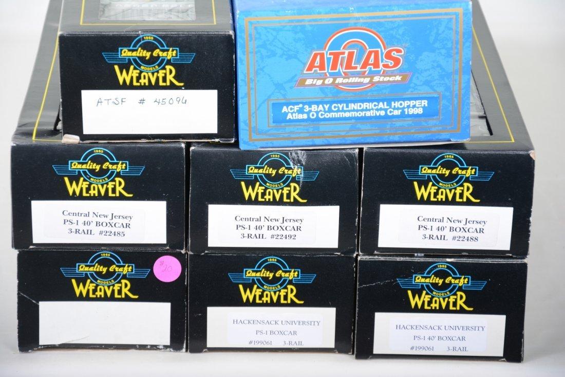 Weaver & Atlas Freight Cars - 2