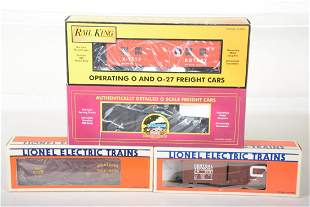 Lionel & MTH Freight Cars