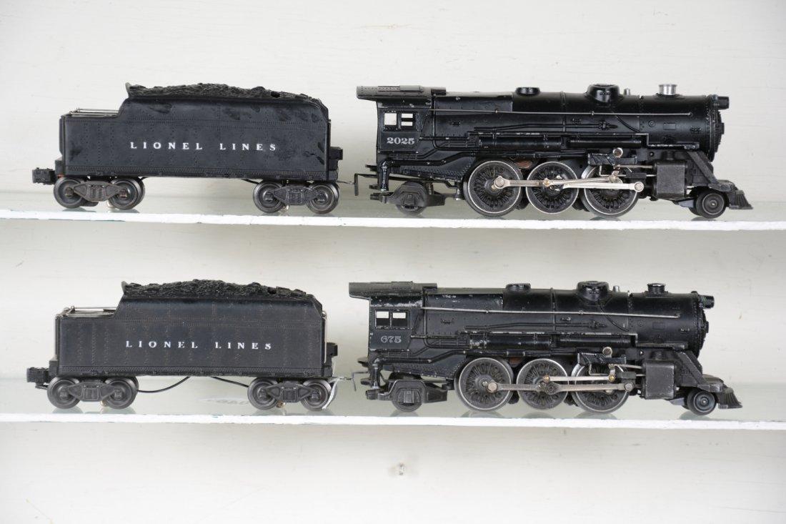 Lionel 2025 & 675 Steam Locomotives
