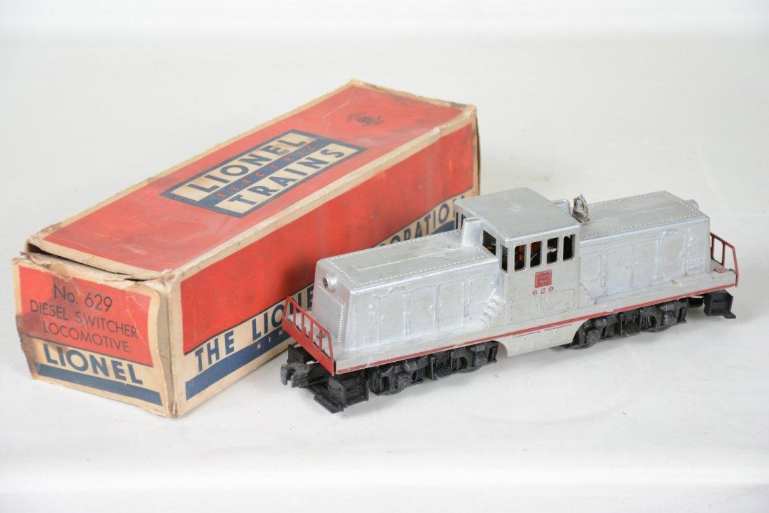Boxed Lionel 629 Burlington 44 Ton Diesel