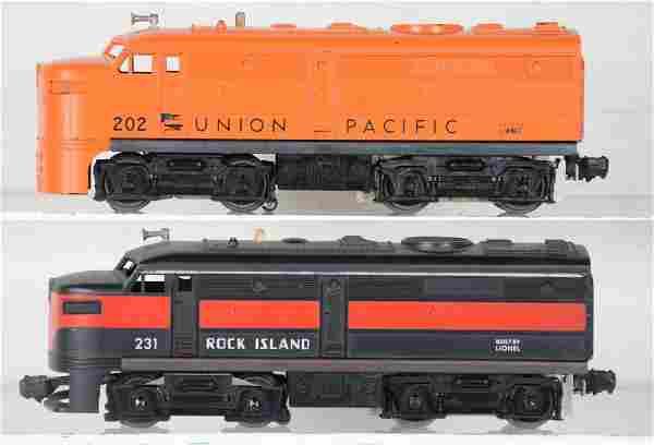 Lionel 231 & 202 Alco Diesels