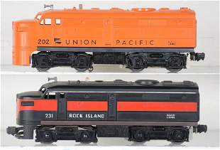Lionel 231 & 202 Alco Diesels