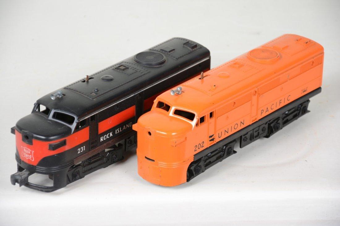 Lionel 231 & 202 Alco Diesels - 3