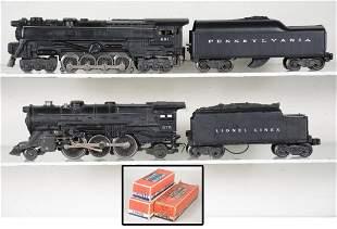 Lionel 681 & 675 Steam Locomotives