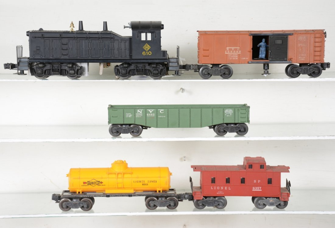 Lionel 610 Diesel Freight Set