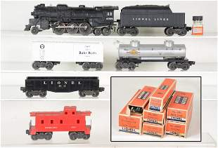 Boxed Lionel 2026 Steam Freight Set