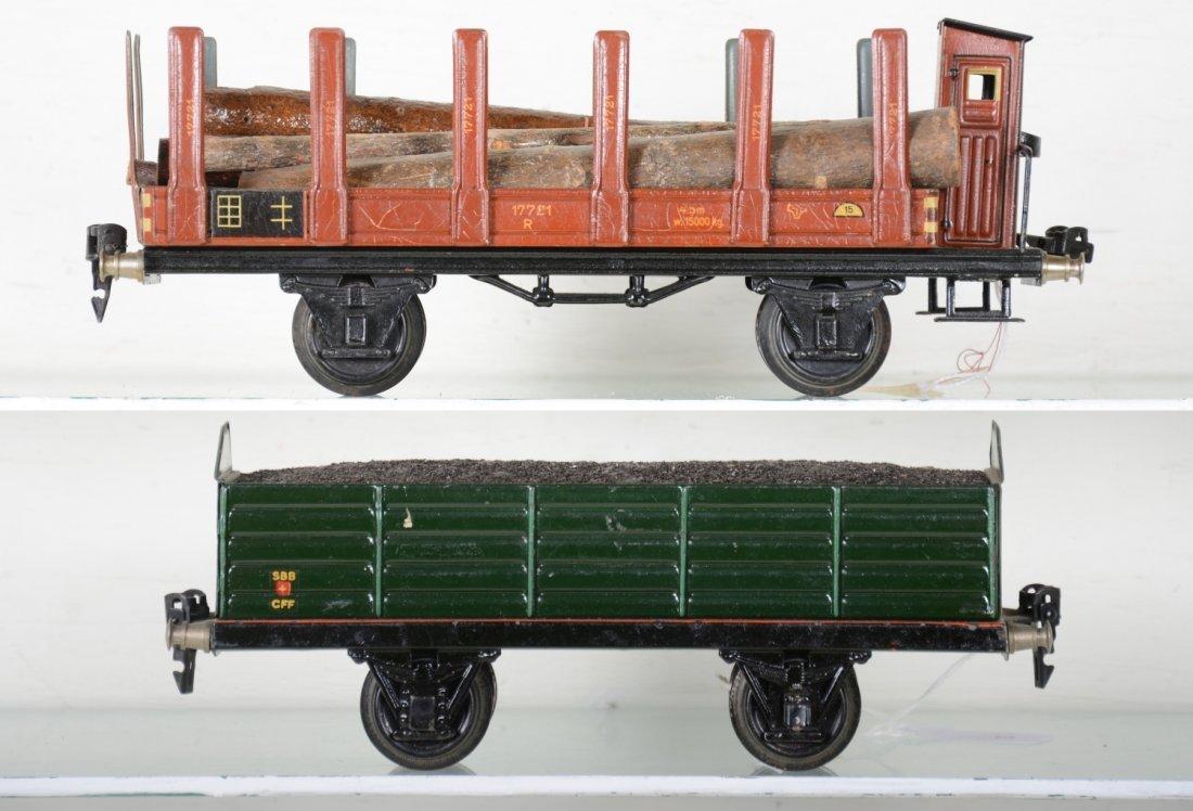 2 Nice Marklin 25cm Freight Cars