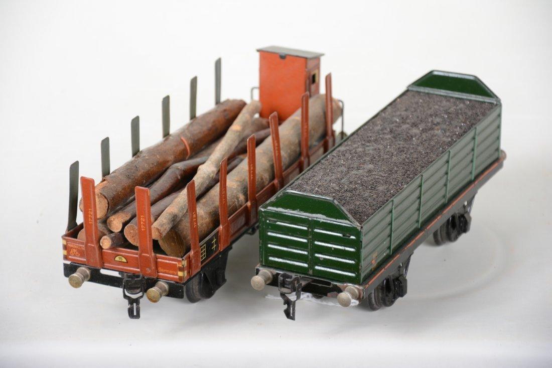 2 Nice Marklin 25cm Freight Cars - 3