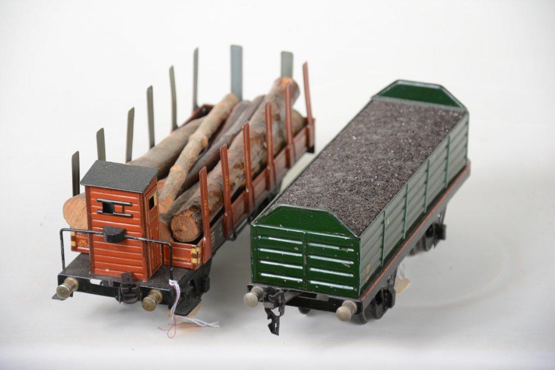2 Nice Marklin 25cm Freight Cars - 4