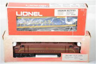 2 Lionel MPC Electric Locomotives