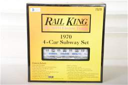 MTH RailKing 3021220 1970 Subway Set