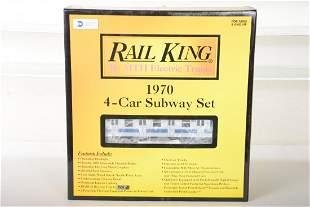 MTH RailKing 30-2122-0 1970 Subway Set