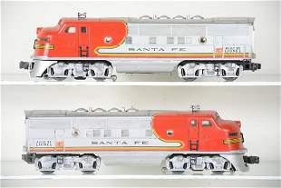 Lionel 2343 SF F3 AA Diesels