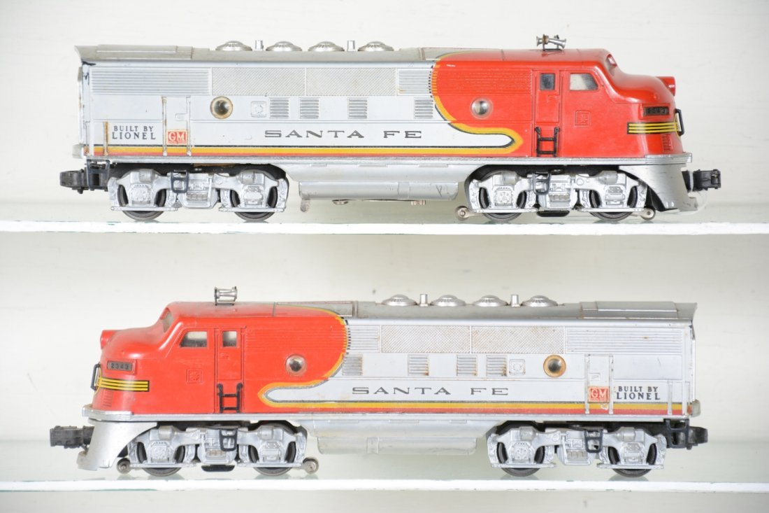 Lionel 2343 SF F3 AA Diesels - 2