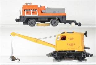 Lionel 3360 & 3927 Motorized Units