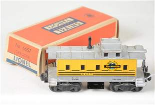 Scarce Boxed Lionel 6657 RG Caboose