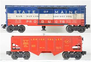 Unusual Lionel 6456-75 & (3494-275) Freights