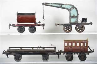 Bing & Marklin Freight Cars, 1 Ga