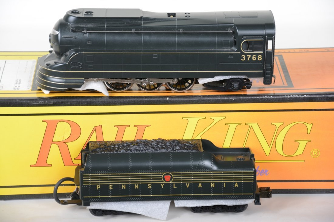 MTH RailKing 30-1118-1 PRR Torpedo Locomotive