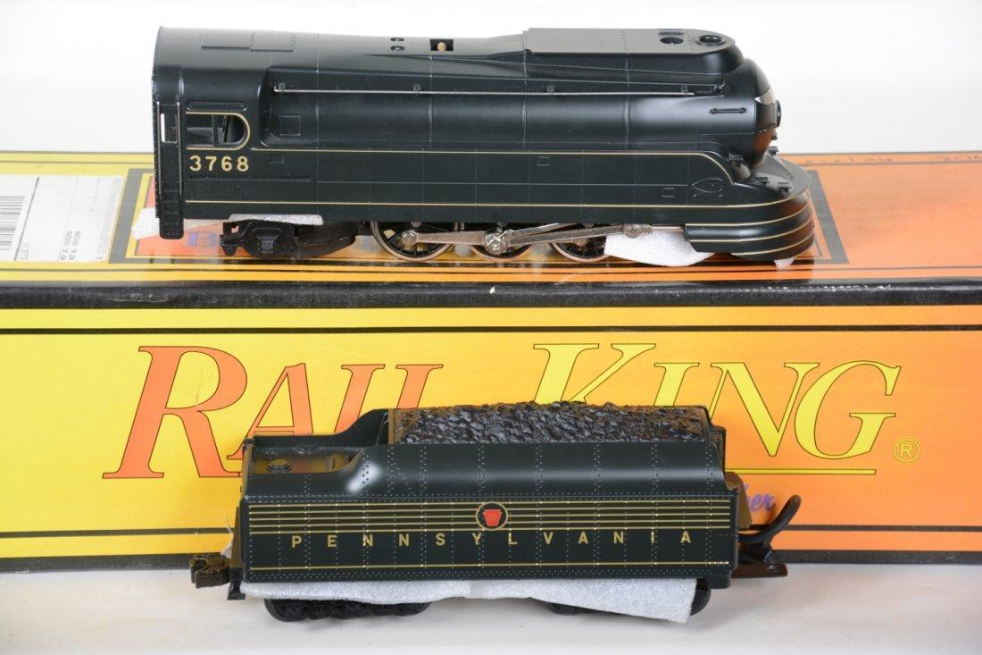 MTH RailKing 30-1118-1 PRR Torpedo Locomotive - 2
