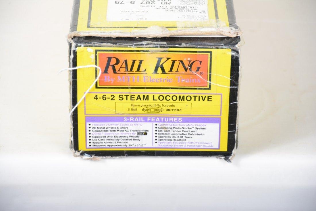 MTH RailKing 30-1118-1 PRR Torpedo Locomotive - 3